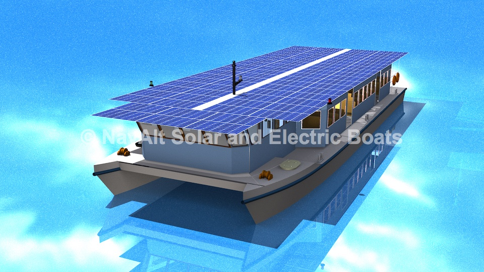 India's first solar ferry